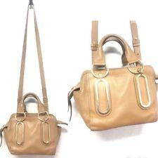 See by Chloe khaki leather crossbody bag