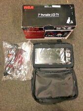 """RCA 7"""" Portable LED Digital ATSC TV Black DPTM70R"""