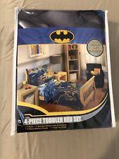 Batman 4 Piece Toddler Bedding Set Batman