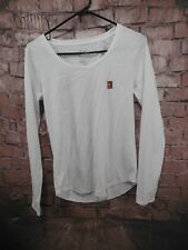 Nike Women's Shirt Size Small Long Sleeve Athletic Cut 857658-100