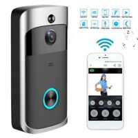 US WiFi Wireless Video Doorbell Two-Way Talk Smart PIR Door Bell Security Camera