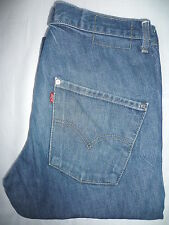 Levi's tipo 3 Twisted Engineered jeans W32 L34 BLU STRAUSS levf 089 #