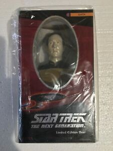 DATA STAR TREK THE NEXT GENERATION LIMITED EDITION BUST hand cast + numbered