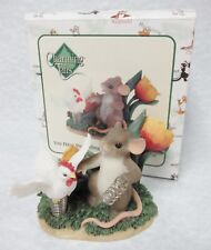"Charming Tails 88/138 ""You Have Me Feeling Like A Spring Chicken"" Love expressed"