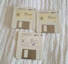 "1993 Hewlett Packard Software/ HP Desk Writer Series/Three 3.5"" Diskettes/ Fonts"