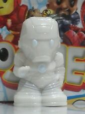"""OOSHIES Common Item """" SILVER IRON-MAN """" Marvel Series 3 Collection"""
