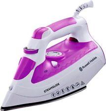 Russell Hobbs 21360 2600-Watt Steamglide Iron White Purple