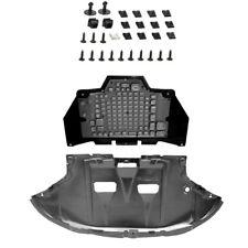Unterfahrschutz + Getriebeschutz mit Einbausatz Clips AUDI A4 B6 B7 2000-2007