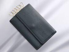 H6751M Authentic Louis Vuitton Taiga 6-Ring Key Case