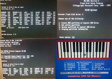"5x MS-DOS System/Boot-Disks version 2.11,3.31,4.01,5.00,6.22 on 5.25"" 360Kb Disk"