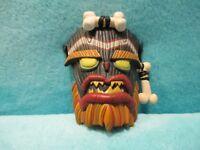 "1999 ReSaurus PS1 Crash Bandicoot Series 2 - Uka Uka Mask Action Figure 4"" Toy"
