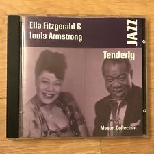 CD - Ella Fitzgerald and Louis Armstrong - Tenderly - Master Collection - Jazz