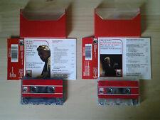Lot 2 cassettes Herbert VON KARAJAN : Mozart, Ravel, Debussy, EMI