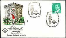 España 1985 objetos de interés militar Cubierta militar #C40123