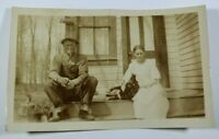 Vintage Real Photograph Early 1900s Rare Unposted Antique Postcard Collectible