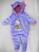 Infant Girls Hello Kitty $60 Purple Pram Sizes 0/3 Mth., 3/6 Mth. & 6/9 Mth.