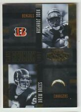 DREW BREES 2005 Playoff Honors 2001 CLASS REUNION #CR-18 SP #/250 w Chad Johnson