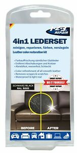 Leder-Färbeset Leder-Reinigung Cuir Couleur Cuir Scellage Cuir Réparation