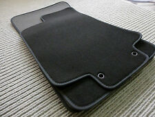 $$$ Velours Fußmatten für Jaguar XJ X350 + Nubukleder+ Original Lengenfelder NEU