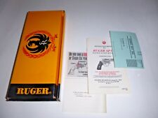 """"""" RUGER  """"    -   BOX ONLY !!!!!!!"""