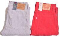 Levis Jeans 511 Men's Casual Corduroy Warp Stretch Pants Choose Color & Size