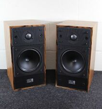 Pair of Celestion SL6S Brown Wood Speakers, SINATRA ESTATE, EXCELLENT