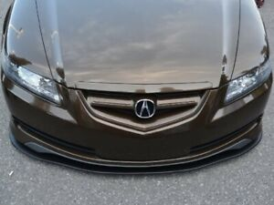 "Acura TL Front Splitter 04-08 (Artwork Bodyshop) - Matte Black -  - 8"" Winglets"