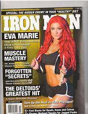 IRONMAN bodybuilding magazine wrestling WWE /WWF Eva Marie Diva 10-14