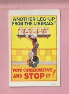 National Union of Conservative, Stanley Baldwin, Miniature poster trade card