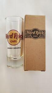 HARD ROCK CAFE GRAN CANARIA SHOT GLASS **BRAND NEW**