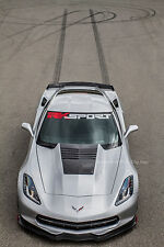 2014-18 C7 Corvette Extractor Hood RK Sport 52012005 With Carbon Fiber Blister