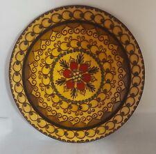 Beautiful Decorative  Wooden Wall Hangable Plate