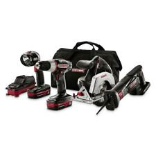Craftsman 11404X 19.2V Lithium Combo Kit - 4-Piece Drill/Driver/Circular saw