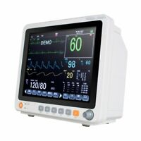 12.1''Portable Patient Monitor SpO2,PR,NIBP,ECG,RESP,TEMP ICU Vital Sign Cardiac