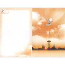 New Church Bulletin Brochure Paper (Package-100) - The Lord Lives