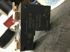 HFE22-A, LATCH RELAY, 12D1T21,COIL, 12VDC, 100A, 277VAC
