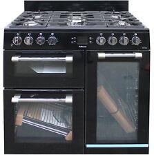 Leisure CK90F232K 90cm Dual Fuel Range Cooker Glass Doors Gas Hob #1518