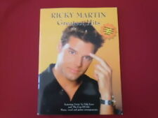 Ricky Martin - Greatest Hits (ohne Poster!)  . Songbook Piano Vocal Guitar PVG