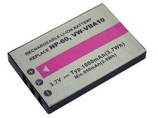 PowerSmart 1000mAh Akku für Fujifilm FinePix 50i M603 NP-60 F401 F410 F601