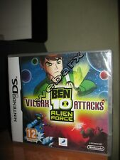 NINTENDO DS BEN 10  ALIEN FORCE VILGAX ATTACKS NUOVO SIGILLATO