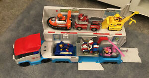 PAW PATROL PAW PATROLLER RESCUE TRUCK WITH SOUNDS VEHICLES & FIGURES TAKE A L@@K
