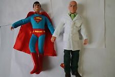 SUPERMAN MEGO RETRO SUPERBOY & LEX LUTHOR  8 INCH ACTION FIGURE NEW IN POLYBAG