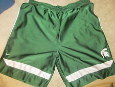 Michigan State Spartans Nike Authentic Basketball Shorts - Size Adult 2XL