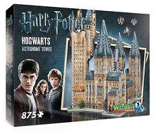 3D Puzzle - Harry Potter - Astronomieturm, 875 Teile, Hogwarts, Rowling, Wrebbit
