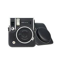 Pu Leather Protective Case For Fujifilm Instax Mini 40 Instant Camera Strap Bag
