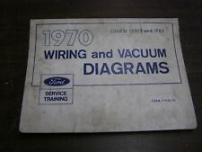 Vintage Parts For 1970 Ford Torino Sale Ebay. Oem Ford 1970 Wiring Diagram Book Galaxie Mustang Cougar Torino Lincoln Maverick. Ford. Philco Ford Radio Wiring Diagram 1970 Mustang At Scoala.co
