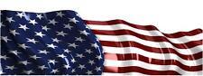 RACE CAR GRAPHICS  AMERICAN FLAG   IMCA Late Model Dirt Trailer Sprint Flag #31