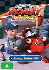 Roary The Racing Car - Roary Takes Off - DVD ss Region 4 Good Condition