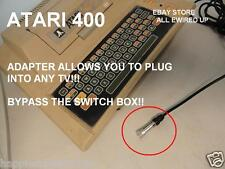 ATARI 400 XL TV RF Cable Connector Switch Box Computer System
