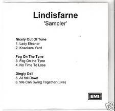 Lindisfarne - 3 Album Sampler  UK PROMO CD